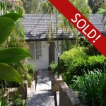Property Sold Charming Light Filled Cottage, 3 Beds, 2 Bath. Leafy Outlook.